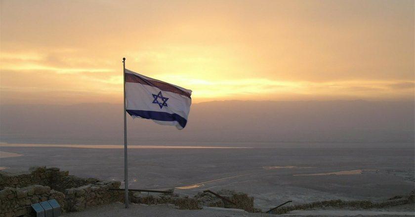 σημαία Ισραήλ στα κατεχόμενα
