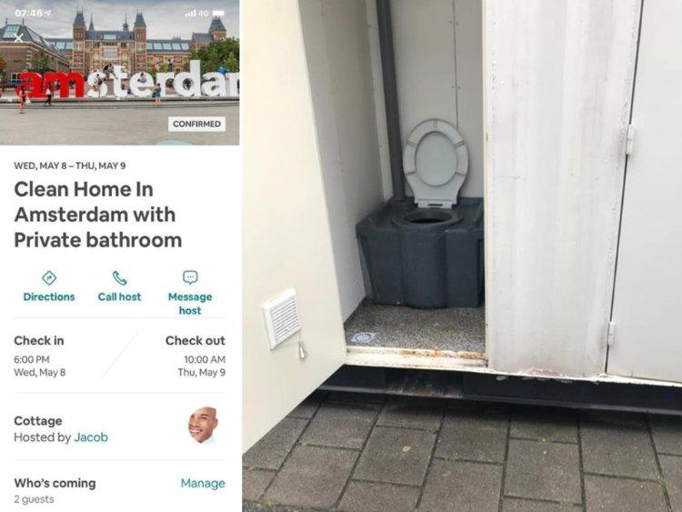 κοντέινερ Airbnb