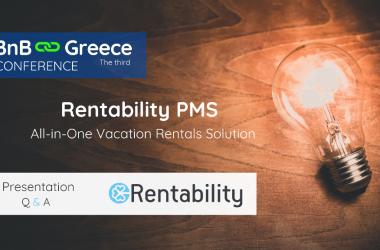 Μια μοναδική λύση για όλους τους hosts από την Rentability