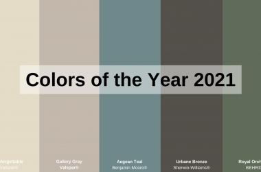 τάσεις στα χρώματα